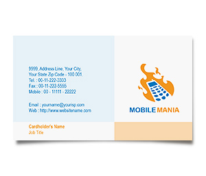 Business Card printing Mobile Communication Services