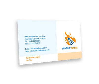 Online Business Card printing Mobile Communication Services