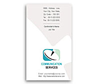 Online Business Card printing Data Communication