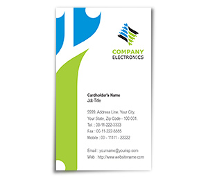 Business Card printing Electronics Components