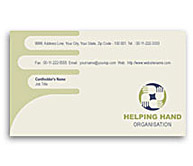 Online Business Card printing Social Services
