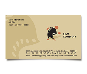Business Card printing Film Productions