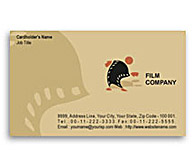 Online Business Card printing Film Productions