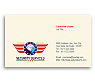 Online Business Card printing Security Guards Services