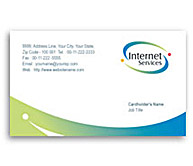 Online Business Card printing Satellite Internet Service