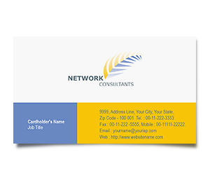 Business Card printing Computer Network Support