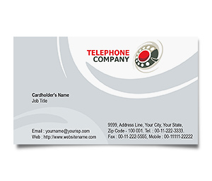 Business Card printing Telephone Company