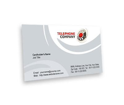 Online Business Card printing Telephone Company