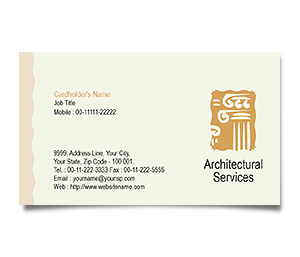 Business Card printing Construction