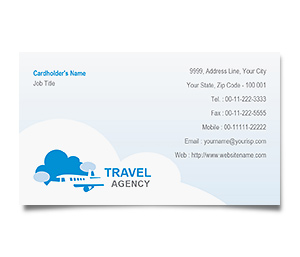 Business Card printing Airline Travel