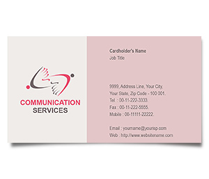 Business Card printing Corporate Communications