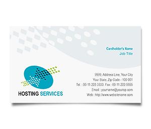 Business Card printing Server Hosting Services