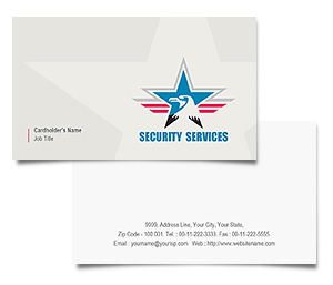 Business Card printing Security Service
