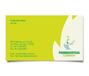 Business Card printing Herbal Medicine