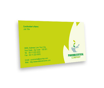 Online Business Card printing Herbal Medicine