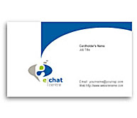 Online Business Card printing Chat Software