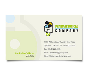 Business Card printing Pharmacy Drugs