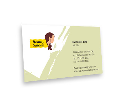 Online Business Card printing Spa and Hair Salon