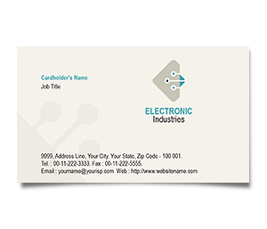 Business Card printing Electronics Engineering
