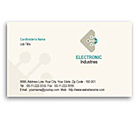 Online Business Card printing Electronics Engineering