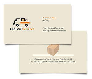 Business Card printing Transport Logistics