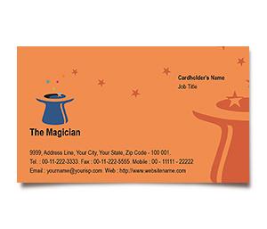 Business Card printing Magician