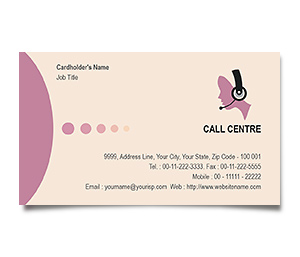 Business Card printing Call Centre Training