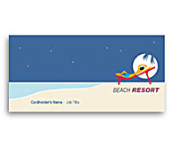 Online Business Card printing Beach Club Resort