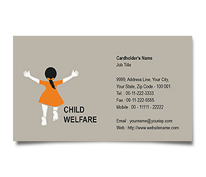Business Card printing Child Welfare