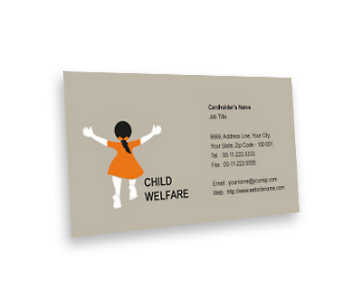 Online Business Card printing Child Welfare