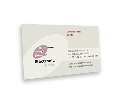 Online Business Card printing Electronics Projects