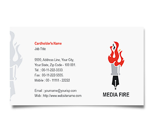 Business Card printing Journalism