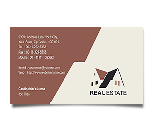 Business Card printing Real Estate