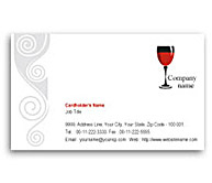 Online Business Card printing Pub Bar