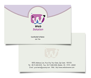 Business Card printing Web Solution