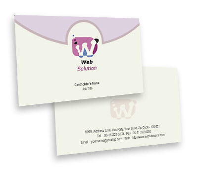 Online Business Card printing Web Solution