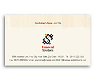 Online Business Card printing Finance Management