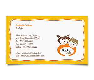 Business Card printing Kids Era