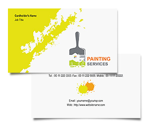 Business Card printing Painters Services