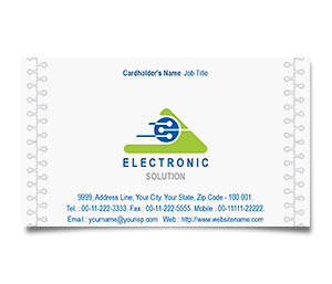 Business Card printing Industrial Electronics