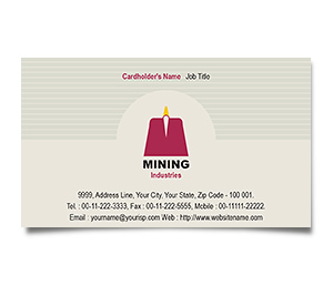 Business Card printing Mining