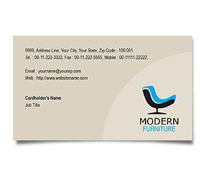 Business Card printing Furniture Sale