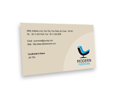Online Business Card printing Furniture Sale