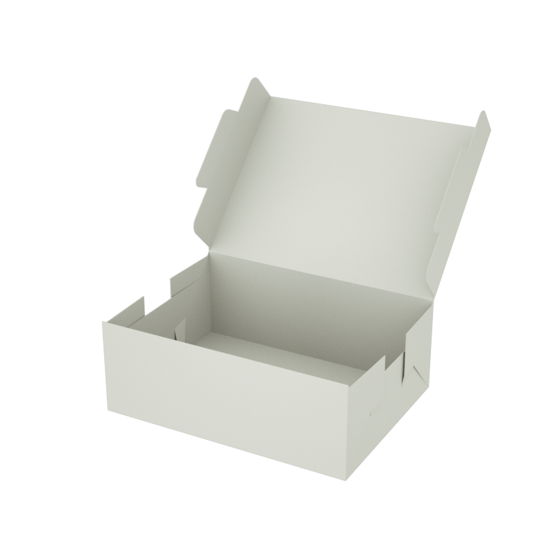 Online Plain Boxes printing Small Box 8 x 6 x 3 inches