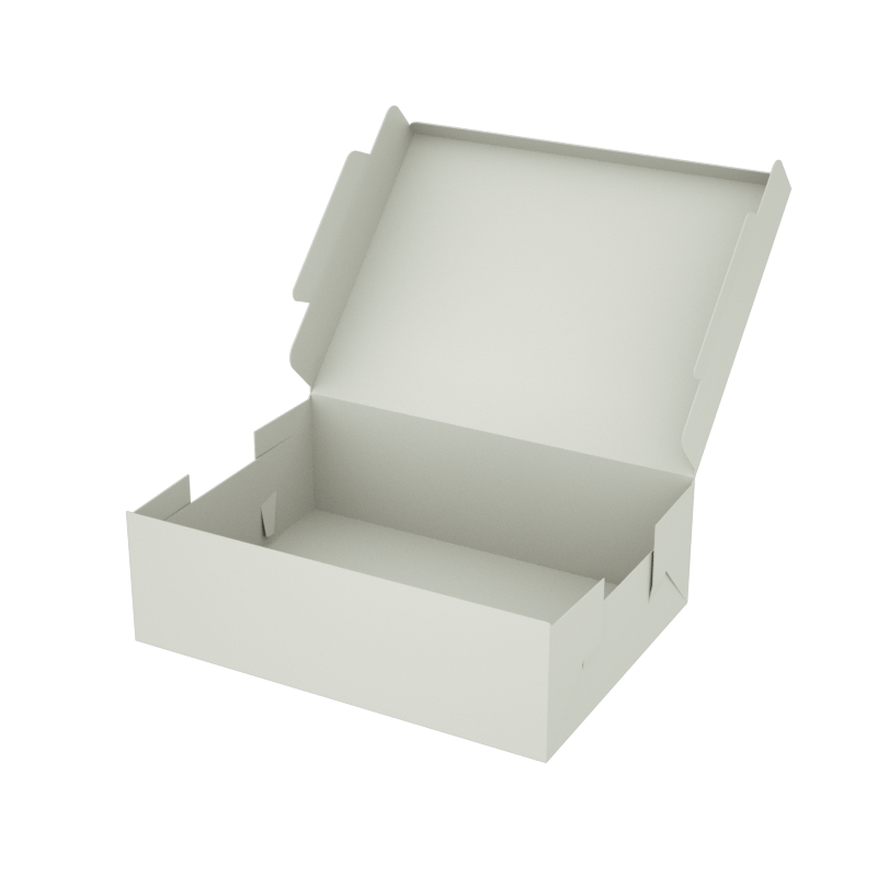 Online Plain Boxes printing Large Box 9.5 x 7 x 3 inches