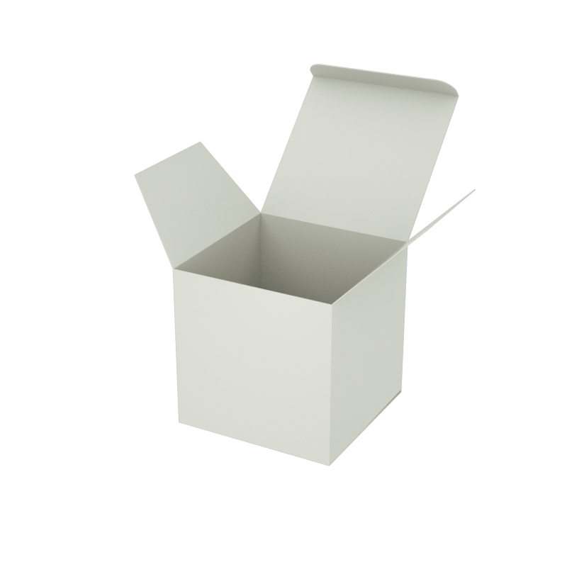 Online Plain Boxes printing Small Box 3 x 3 x 3 inches