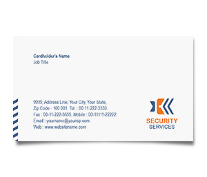 Business Card printing Network Security Services