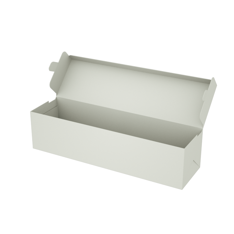 Online Plain Boxes printing Food Box 8 x 2.2 x 2 inches