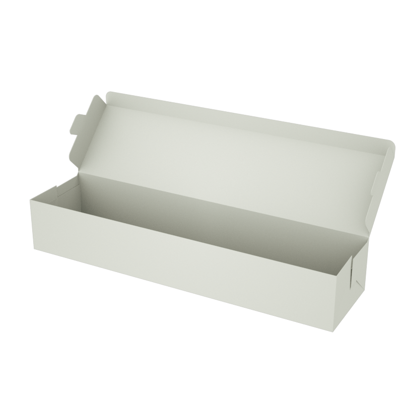 Online Plain Boxes printing Food Box 12 x 3 x 2 inches