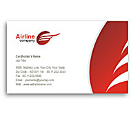 Online Business Card printing Airlines Travel